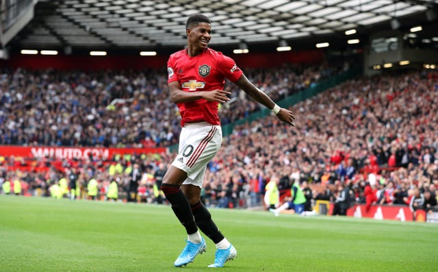 Marcus Rashford gave Manchester United a dream start to the Premier League season (Martin Rickett/PA)
