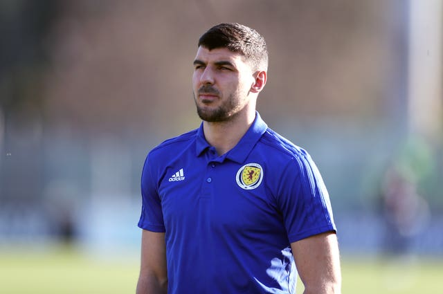 Callum Paterson suffered agony on his last Scotland outing