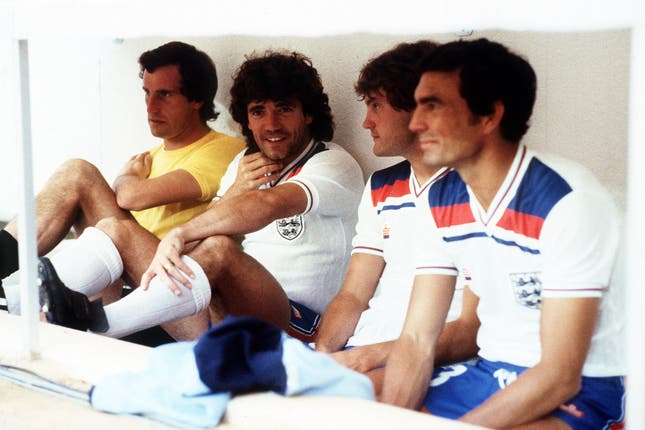 At the 1982 World Cup in Spain, Clemence watched on as Shilton became the regular England number one