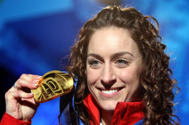 Briton Amy Williams won the 2010 Olympic skeleton title