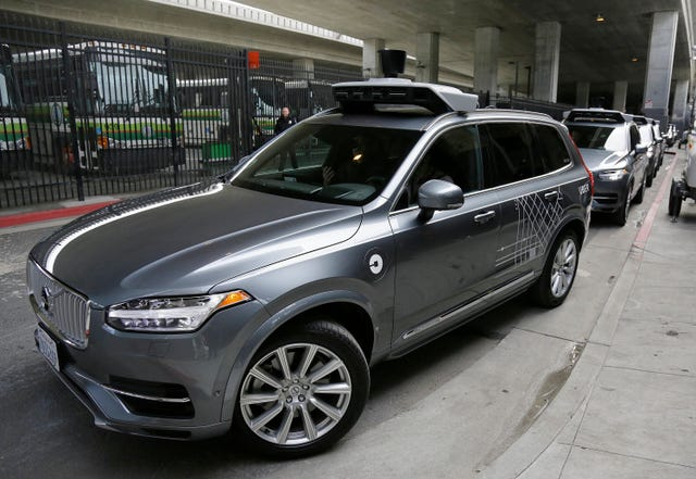Uber self-driving car in fatal crash