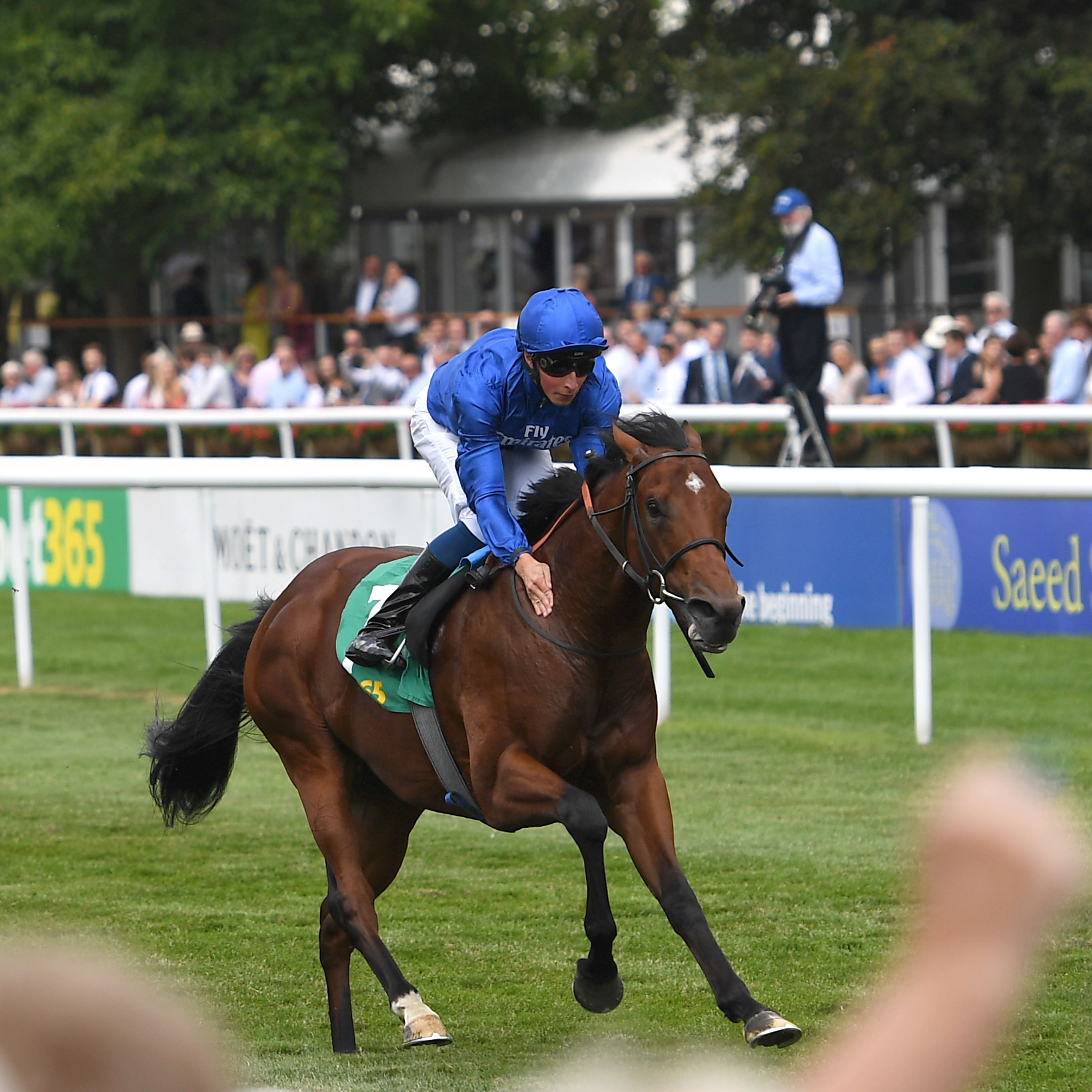 Quorto was an impressive winner of the Superlative Stakes at Newmarket