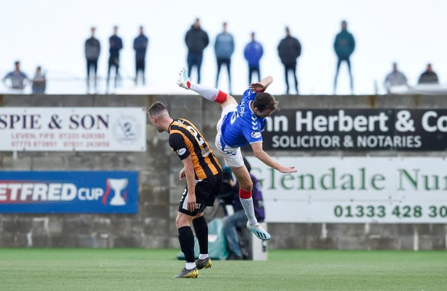 Rangers ran out 3-0 winners at Ladbrokes League One East Fife in the Betfred Cup