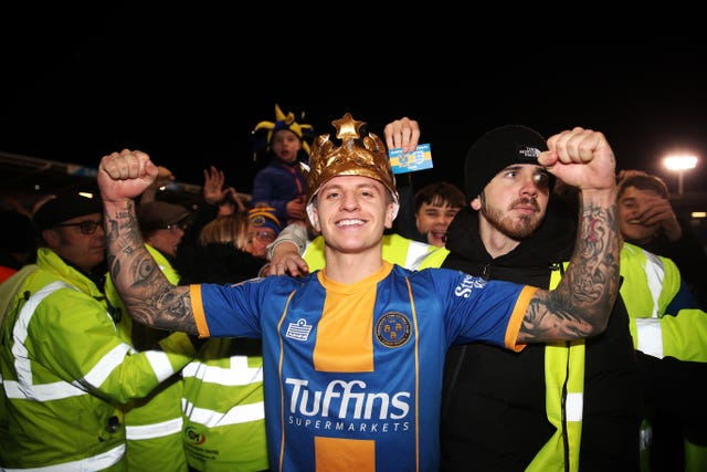 Shrewsbury Town v Liverpool – FA Cup – Fourth Round – Montgomery Waters Meadow