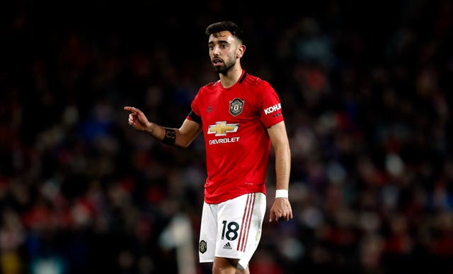 Bruno Fernandes looked lively on his United debut