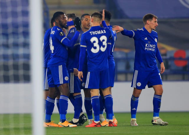 Leicester City v Sporting Braga – UEFA Europa League – Group G – King Power Stadium