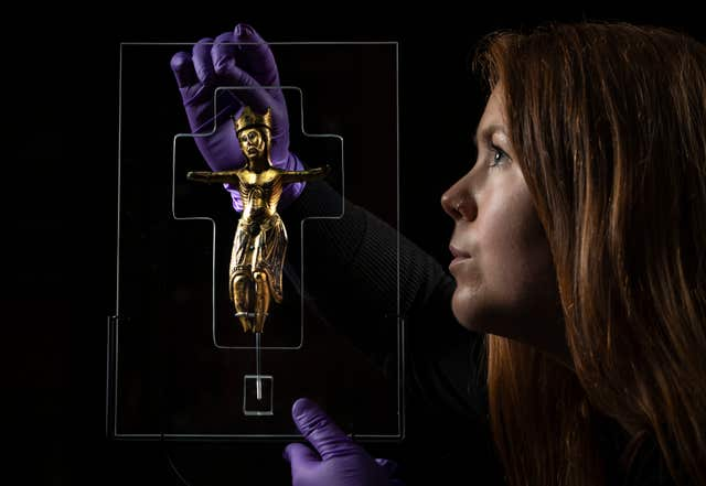 800-year-old figure of Christ returns to York