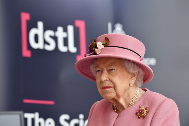 Royal visit to Defence Science and Technology Laboratory