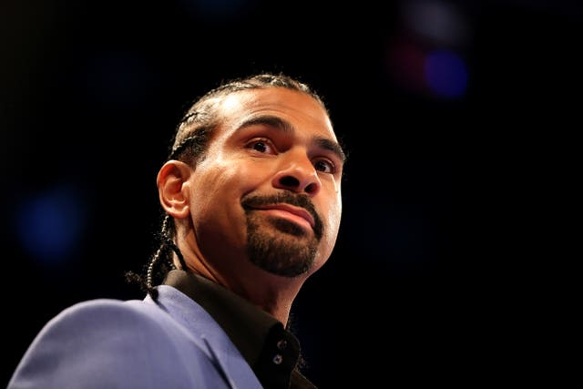 David Haye, pictured, this is a must-win fight for Joe Joyce (Steven Paston/PA)