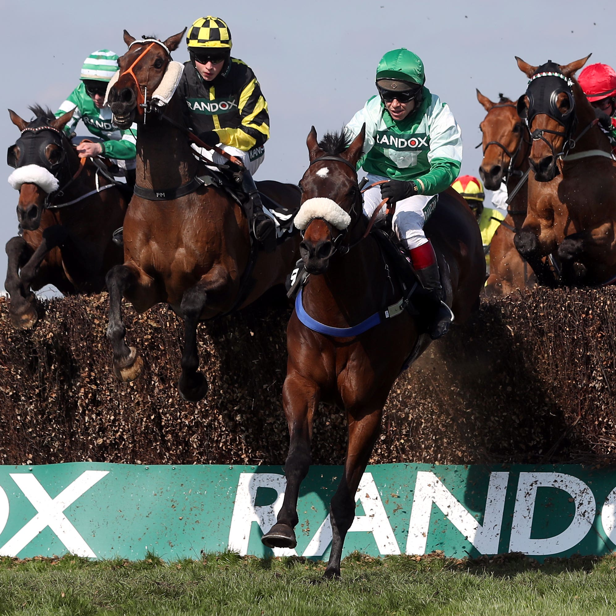 Thomas Patrick (centre) is being targeted at the Ladbrokes Trophy as long as conditions suit
