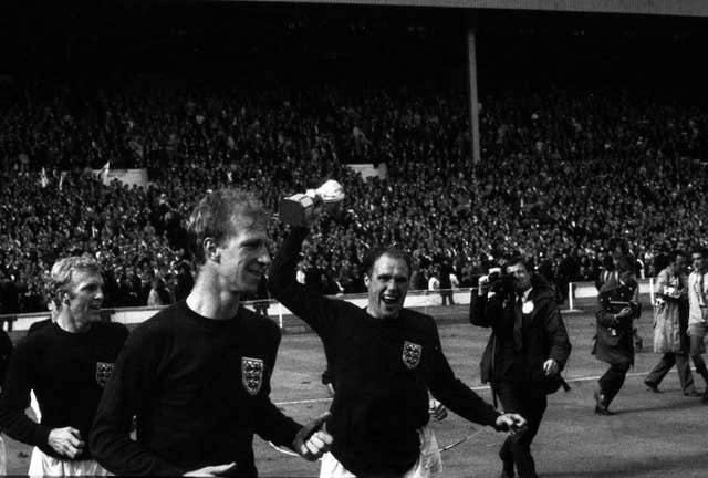 However a year later Charlton returned to Wembley and was part of English football's finest hour