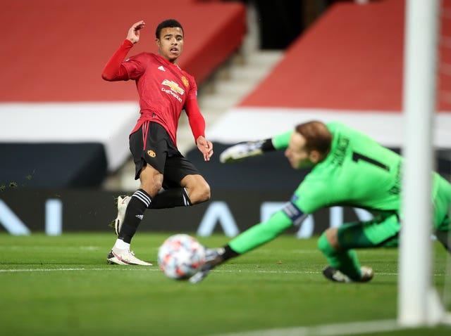 Mason Greenwood fired United ahead
