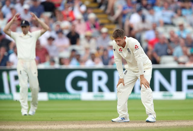 Joe Denly's Test place is far from secure (Nick Potts/PA)