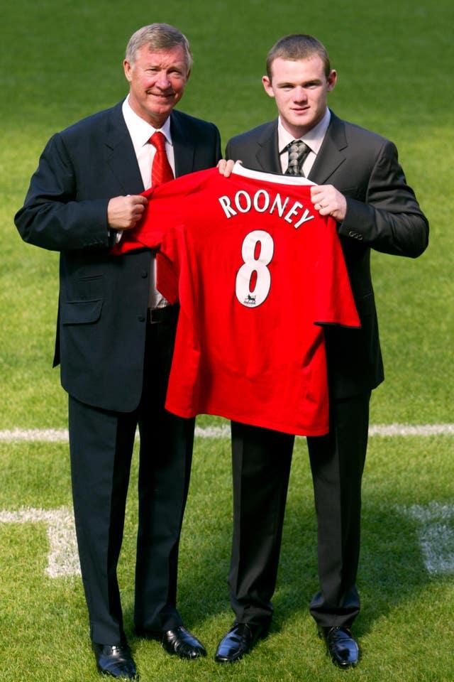 Soccer – Wayne Rooney Filer