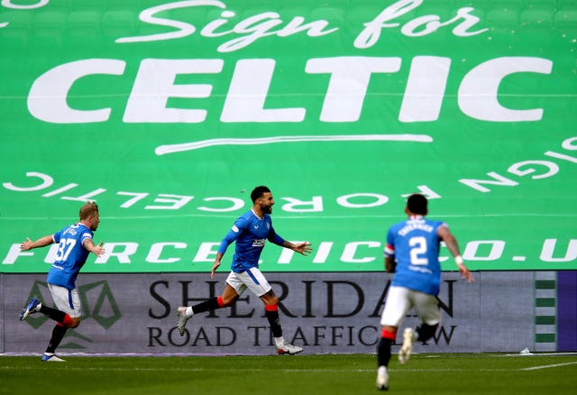 Connor Goldson did the business for Rangers at Celtic Park