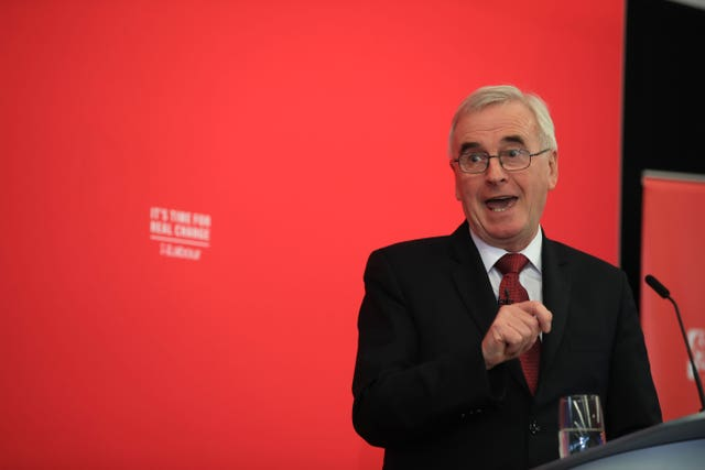 John McDonnell on the General Election campaign trail
