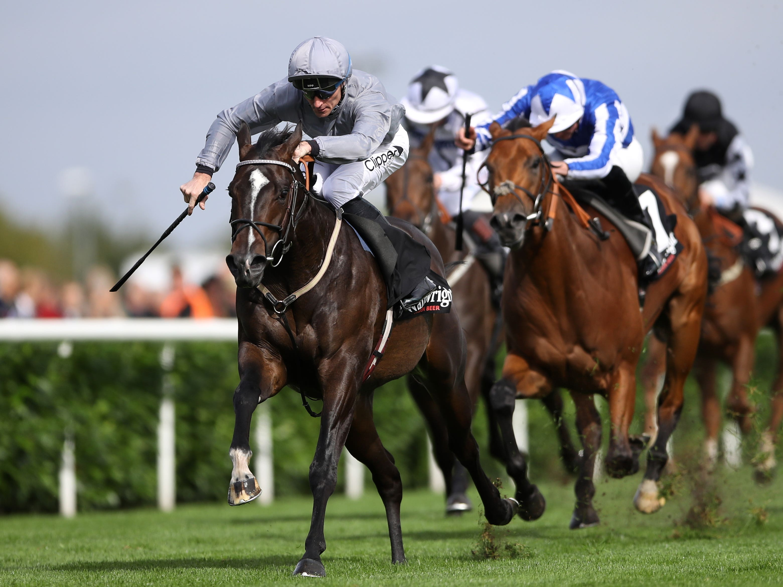 Soldier's Call was a most impressive winner of the Flying Childers Stakes at Doncaster (Tim Goode/PA)