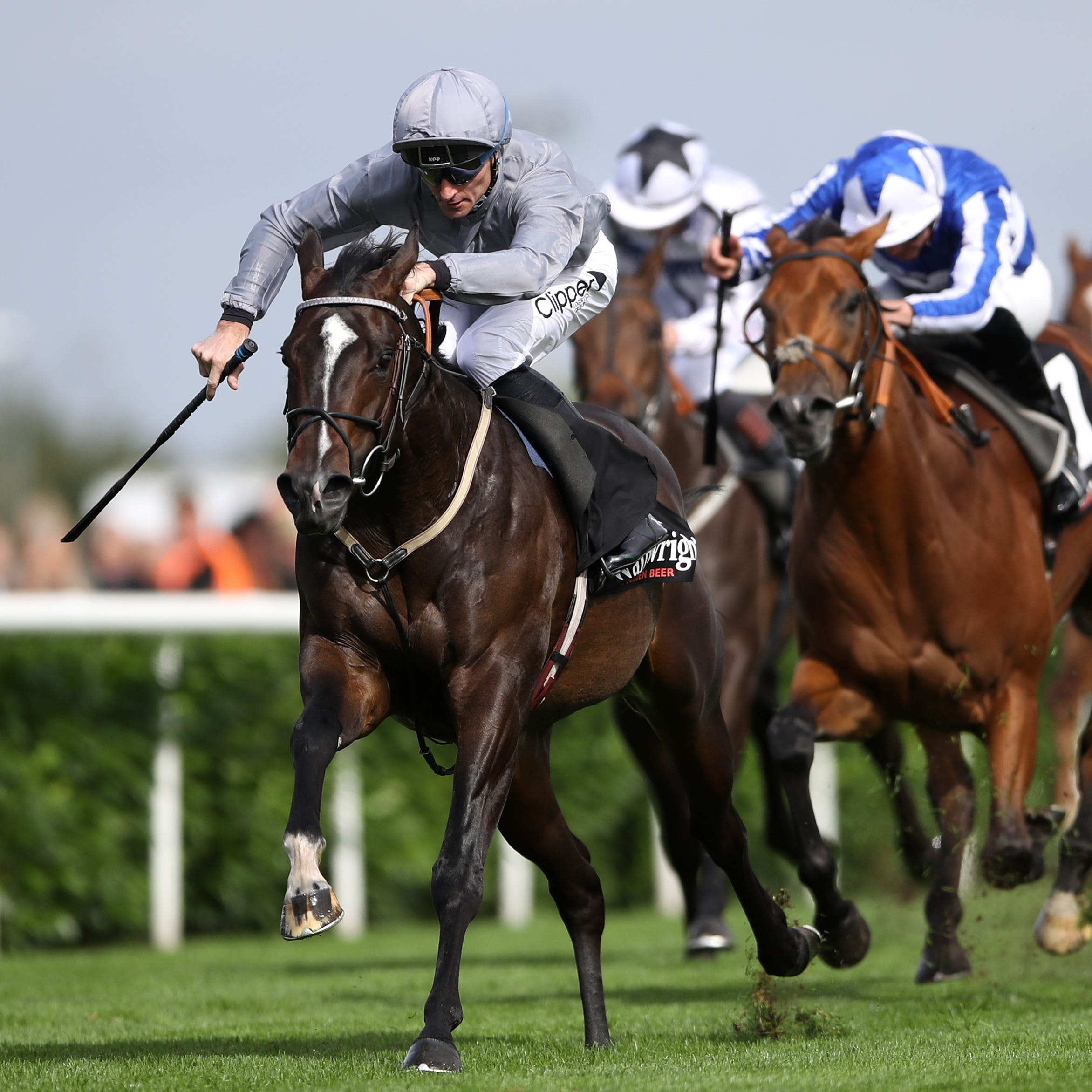 Soldier's Call was a most impressive winner of the Flying Childers Stakes at Doncaster
