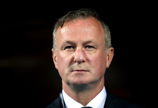 Michael O'Neill saw his side beat the Czech Republic