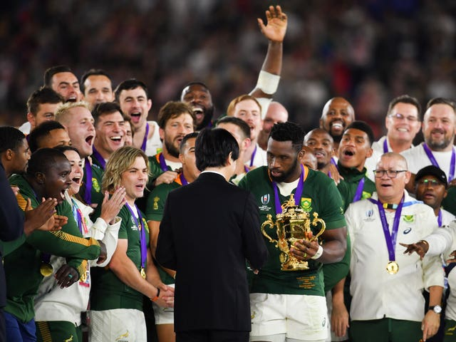 South Africa won the 2019 World Cup in Japan after defeating England in the final