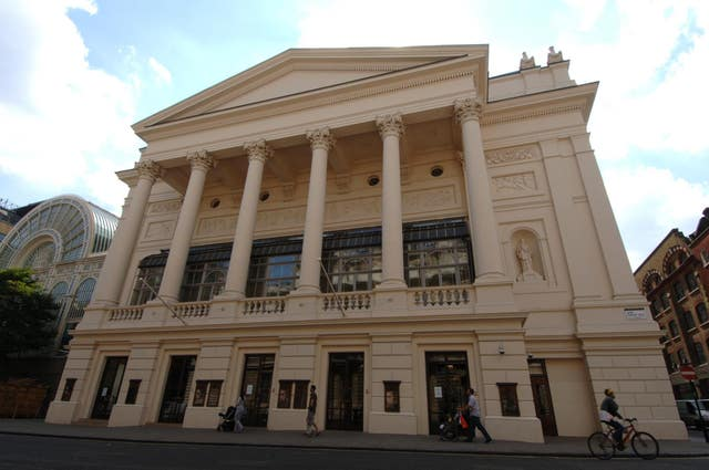 The Royal Opera House in Covent Garden, London