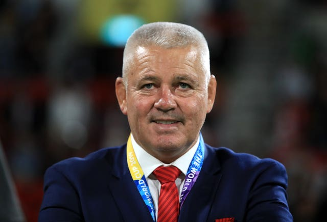 Warren Gatland has had positive news