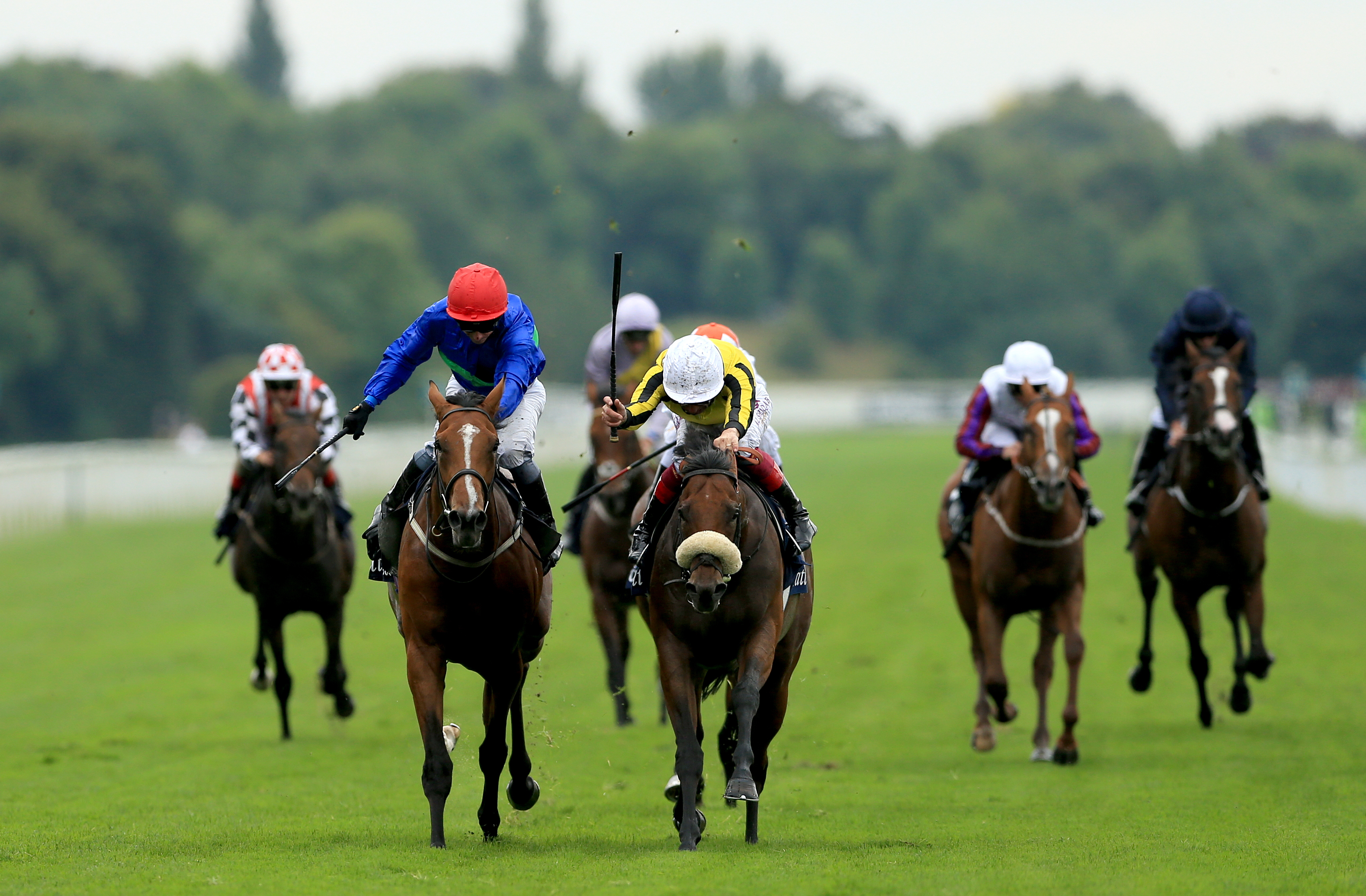 Wells Farhh Go (left) was added to the Derby at the second entry stage (Tim Goode/PA)
