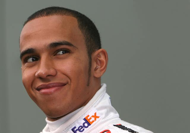 Lewis Hamilton Career in Pictures