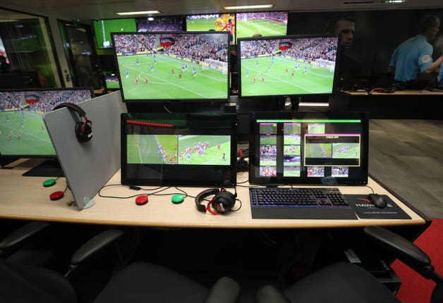 Neville wants the VAR based at Stockley Park to overturn subjective calls