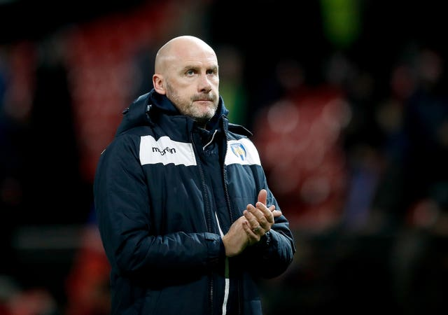 Colchester boss John McGreal was a proud man at Old Trafford
