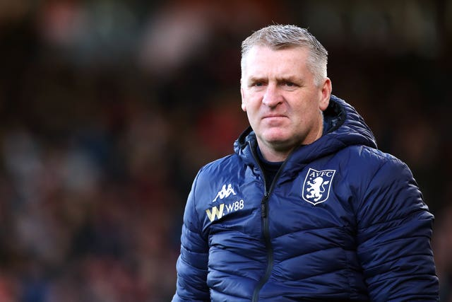 Dean Smith previously managed Watkins at Brentford