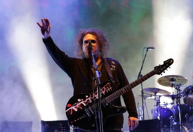 Robert Smith of The Cure (Yui Mok/PA)