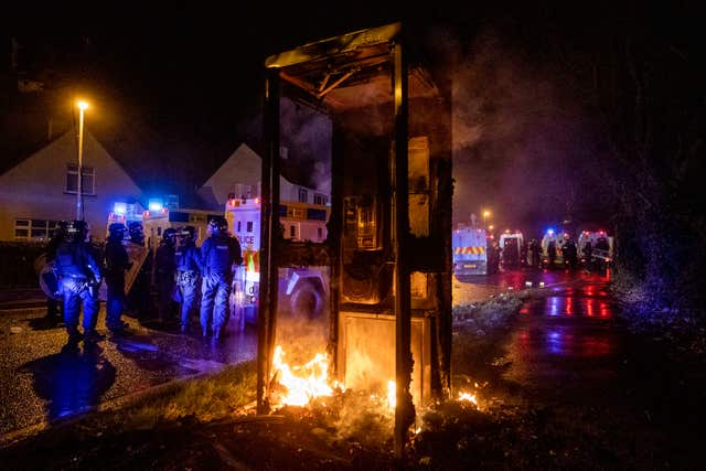Police attacked during another night of violence in Northern Ireland | Express & Star