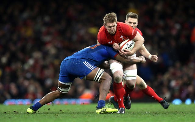 Bradley Davies has won 65 caps for Wales