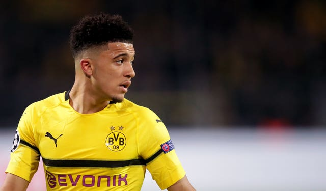 Jadon Sancho' second season at Borussia Dortmund ended with him named in the Bundesliga team of the year
