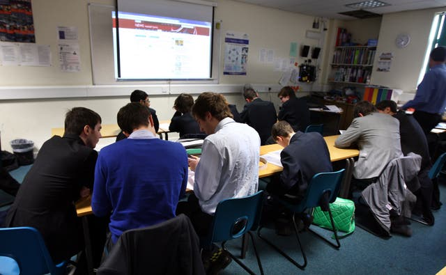Students need to have more time for collaborative learning (David Davies/PA)