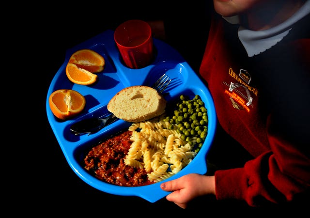 School dinners in a primary school