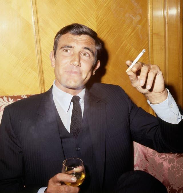 George Lazenby – James Bond Photocall – London