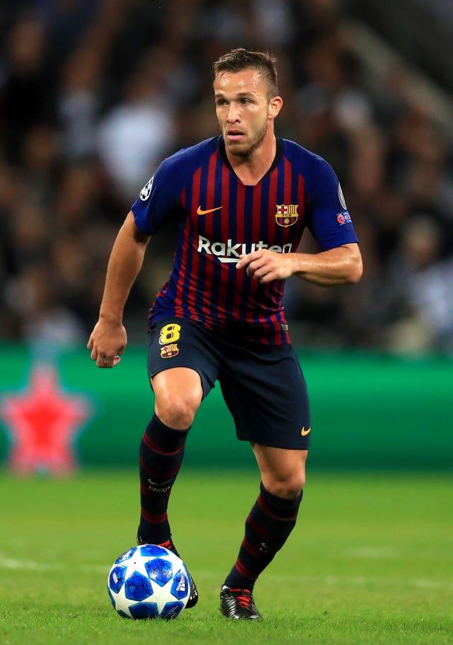 Barcelona's Arthur