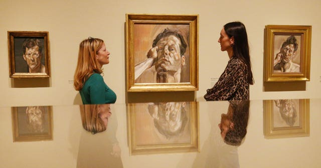 Lucian Freud: The Self-portraits exhibition