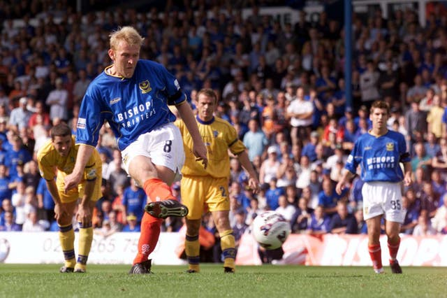 Robert Prosinecki only spent a season at Fratton Park (Chris Ison/PA)