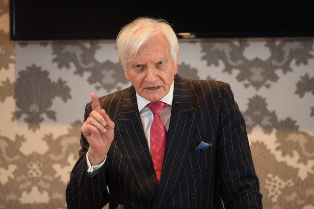 Former Tory MP Harvey Proctor