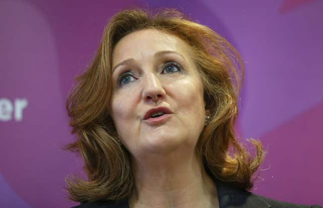 Former deputy chairman of Ukip Suzanne Evans, who has openly discussed the possible demise of the party (Jonathan Brady/PA)