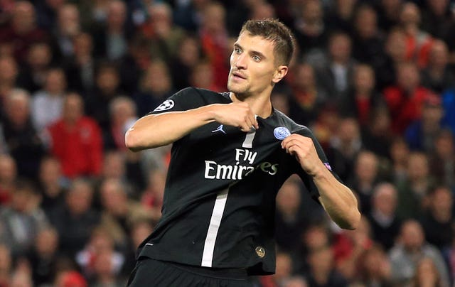 Paris Saint-Germain's Thomas Meunier