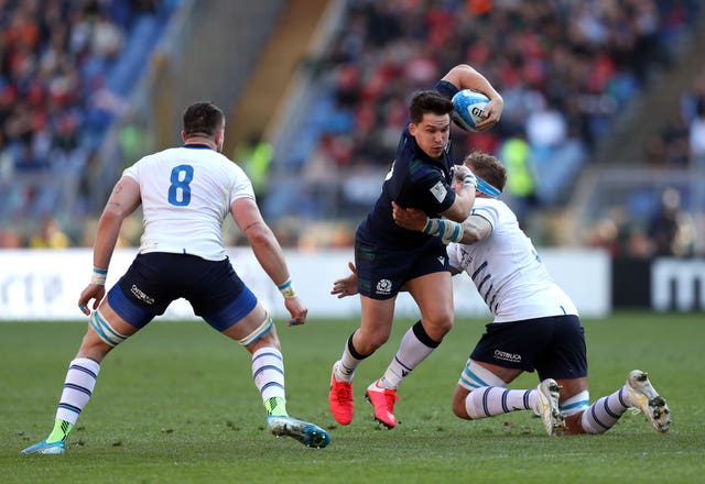 Sam Johnson is hoping Scotland can make some improvements before facing France this weekend
