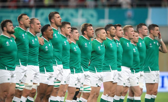 Ireland are also fighting to get out of Pool A