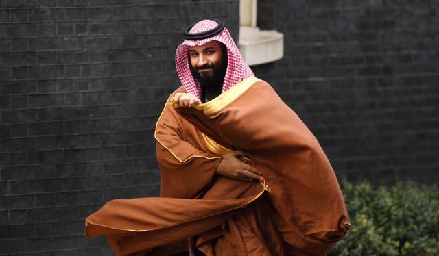 The consortium involves Saudi Arabia's crown prince Mohammad bin Salman
