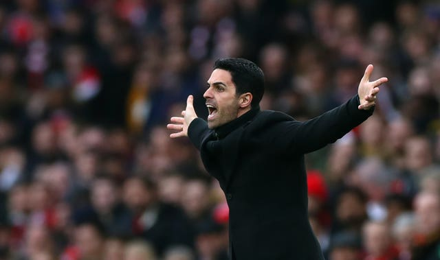 Arsenal manager Mikel Arteta has been diagnosed with coronavirus (Bradley Collyer/PA)