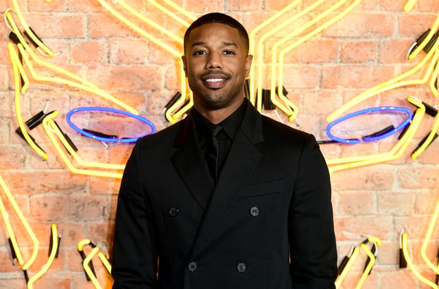Michael B. Jordan attending The Black Panther European Premiere (Ian West/PA)