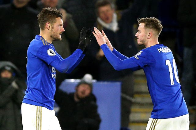 Vardy scored in yet another Premier League game